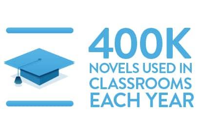 500,000 novels used